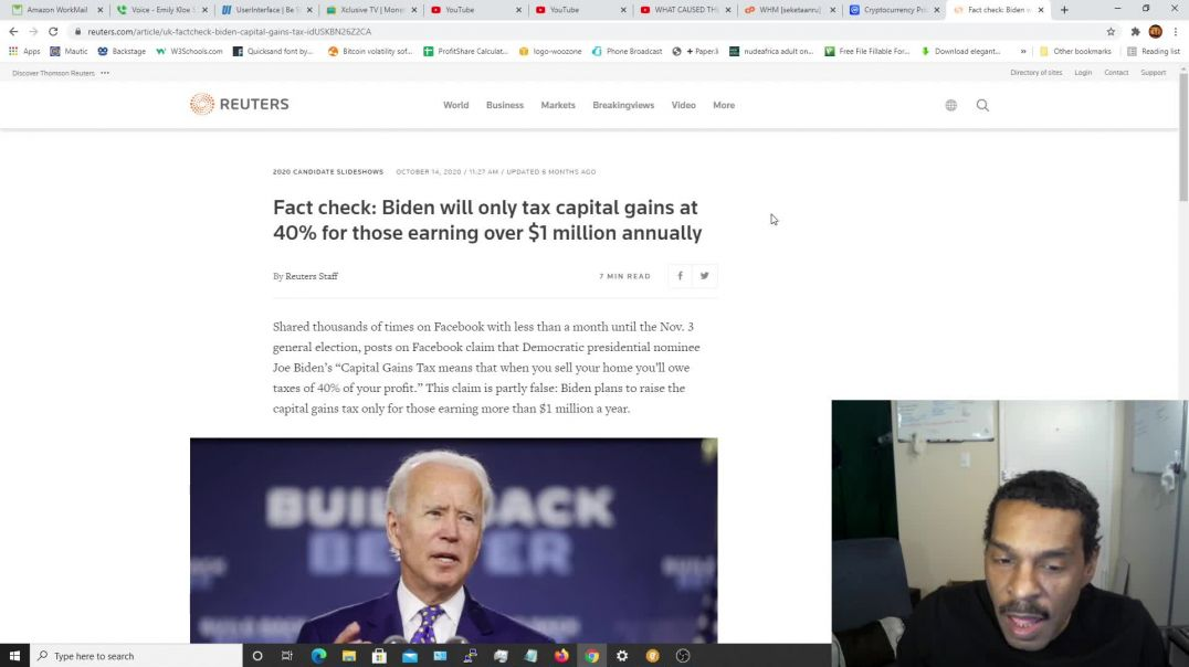 Conversations About Life & Money | Joe Biden Decides To Crash The Financial Markets