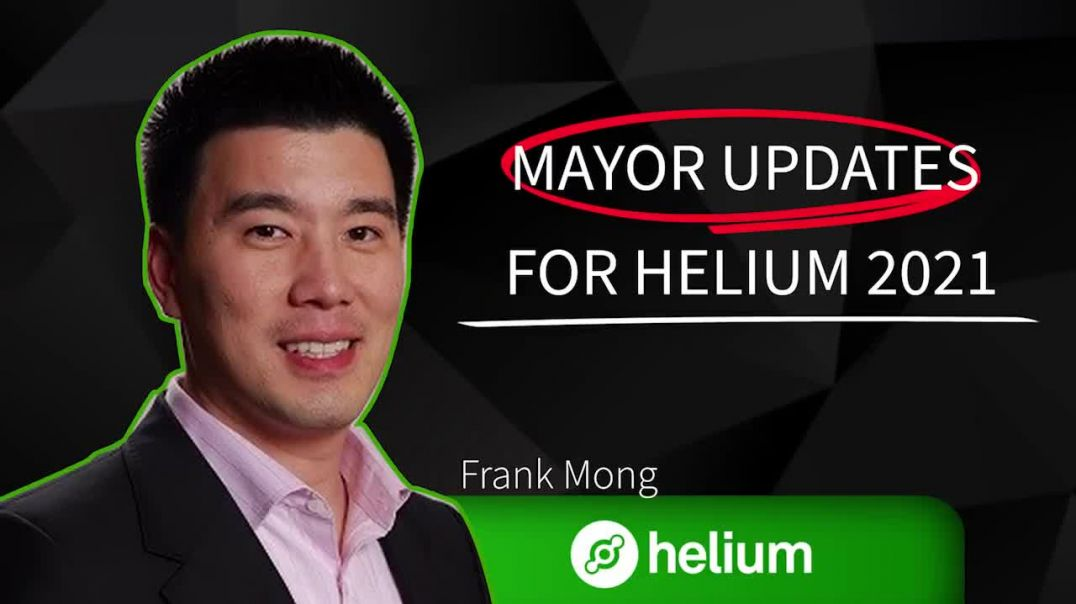 Helium HNT | Interview Frank Mong! New Updates, Staking, Helium Network