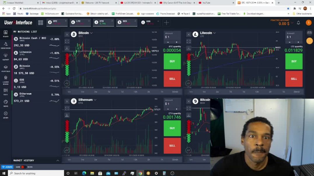 Crypto Market Update 11-22-2020